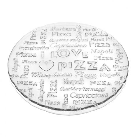 ТАРЕЛКА IVV 7451.1 I LOVE PIZZA CLEAR (0211580115)